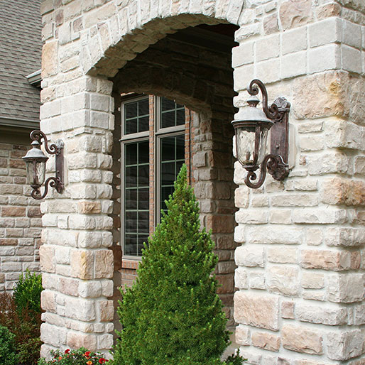 Buy Provia Nantucket Limestone Stacked Stone Veneer Panels