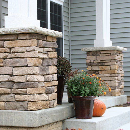 Manufactured Stone Countertops : Buy provia osage ledgestone manufactured stone countertops