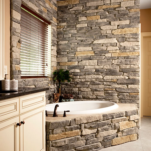 Buy Provia Osage Ledgestone Manufactured Stone Countertops